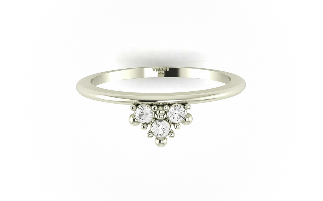 De BlancAlliance Royal MariageBague Solitaire Or – Dot DH9WE2YeI